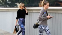 Kate Hudson And Sara Foster Twin For Fab Attired Workout