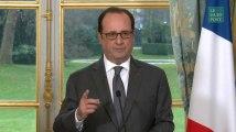"""Hollande: il n'y aura """"pas d'impunité"""" pour ce qui se passe à Alep"""