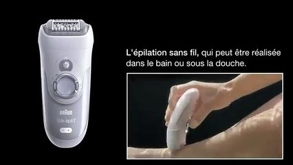 Braun - Epilateur - Silk Epil 7 France