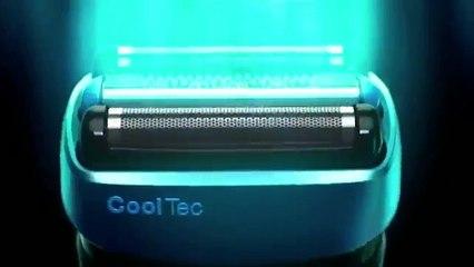 Rasoir CoolTec de Braun. Le 1er rasoir au monde avec technologie active rafraîchissante.