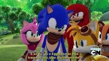 """Sonic Boom 15° Episódio Legendado (PT BR) """"Crise do Vilão de Meia-Idade (BR)"""