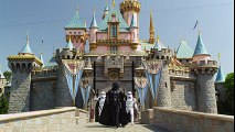 Magic Castle Walk   Star Wars   Darth Vader Goes To Disneyland