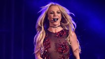 Britney Spears Rocks See-Through Leotard Talks Dating and Christina Aguilera at Jingle Bash