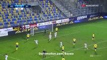 Fedor Cernych Goal HD - Arka Gdynia 1-1 Jagiellonia - 12.12.2016