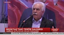 VATAN PARTİSİ GENEL BAŞKANI DOĞU PERİNÇEK-İSTANBUL/BEŞİKTAŞ'TAKİ TERÖR SALDIRISI-11 ARALIK 2016