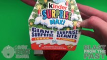 Kinder Surprise Egg Learn-A-Word! Spelling Christmas Words! Lesson 1
