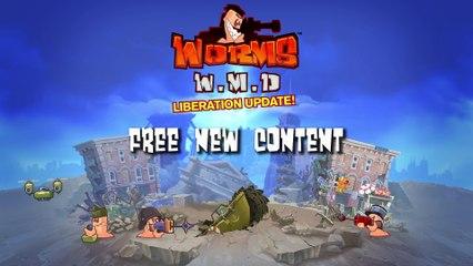 Worms W.M.D - Mise à jour Liberation de Worms WMD