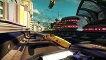 WipEout Omega Collection - PlayStation Experience 2016- Announce Trailer - PS4