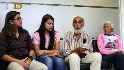 Familiares presos políticos