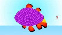Colors for Kids, Learn Colors with Balls, Candy Fish Colour Balls, Colors Nursery Rhymes Video