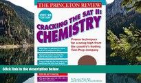 Buy John Katzman Cracking the SAT Il: Chemistry Subject Tests, 1998 ED (Cracking the Sat Chemistry
