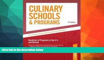 Buy  Culinary Schools   Programs: Hundred of Programs in the U.S and Abroad (Peterson s Culinary