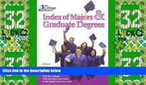Price The College Board Index of Majors   Graduate Degrees 2004: All-New Twenty-sixth Edition The
