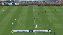 Inter Milan 2 vs 3 Real Madrid - PES 2016 Résume