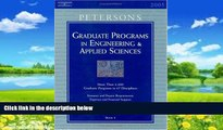 Online Peterson s Grad Guides Bk5: Engineer/Appld Sci 2005 (Peterson s Graduate Programs in