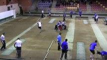 Troisième tour, tir rapide en double , Sport Boules, Club Elite Masculin, J6, Saint-Vulbas contre Aix-les-Bains, saison