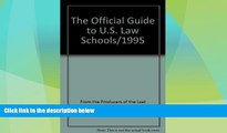 Best Price Offical Guide/Law (Official Guide to U.S. Law Schools) Law School Administration