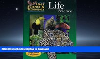 Pre Order Holt Science   Technology: Life Science (Holt Science   Tech 2001) Full Book