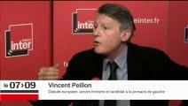 """Vincent Peillon : """"On ne peut pas gouverner un pays comme le nôtre avec une base politique étroite"""""""