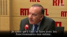 """""""Il faut réformer la sécurité sociale avec les fonctionnaires"""" estime Pierre Gattaz"""