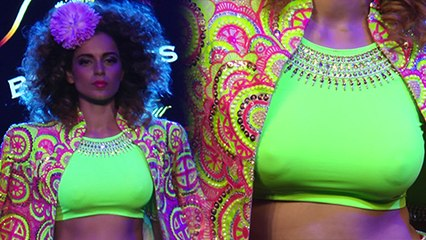 Hot Kangana Ranaut NIPPLE Show, Faces Wardrobe Malfunction | Blenders Pride Fashion Tour 2016