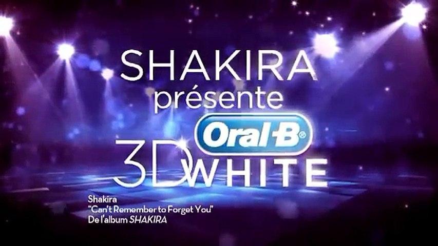 Oral-B 3D White Luxe - Le secret derrière le sourire de Shakira !