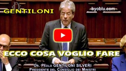 Paolo Gentiloni: Il discorso della fiducia per il Governo alla Camera