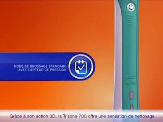 Brosse à dents Oral-B Trizone 700 - Action 3D