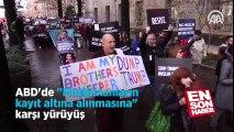 ABD'de Müslümanların kayıt altına alınmasına karşı yürüyüş   En Son Haber