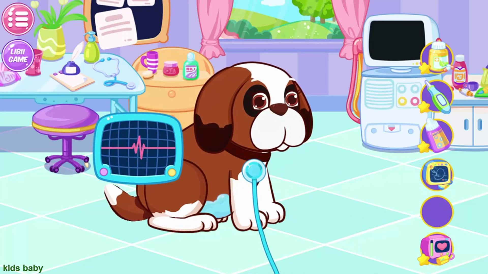 Little Pet Doctor Puppy | Baby Dog in the hospital Pets for Kids