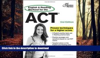 Read Book English and Reading Workout for the ACT, 2nd Edition (College Test Preparation) Kindle
