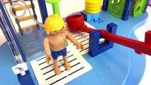 Leo und Papa im Schwimmbad - Playmobil Film - Spaß mit dem Playmobil Summer Fun Wasserspielplatz