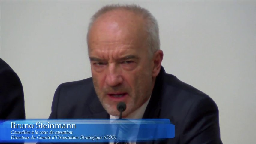 ESL Day 2016 - Rentrée solennelle_02-Bruno Steinmann, Conseiller à la Cour de Cassation, Président du Comité d'Orientation Stratégique de l'Ecole Européenne de Droit