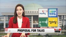 Korea's opposition parties to seek talks with acting president, while Saenuri Party to elect new floor leader Friday
