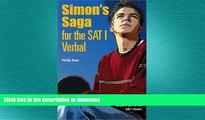 Hardcover Simon s Saga for the New SAT Verbal