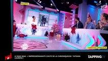 Mad Mag : Tatiana Laurens frôle la mort après une chute impressionnante (déo)