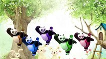 Animated Panda Finger Family Cartoon Animation Nursery Rhymes For Children