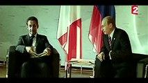 """Poutine à Sarkozy : """"Si tu continues sur ce ton, je t'écrase"""" ! JEUDI 20H55 : Le mystère Poutine (dans le cadre de la soirée Vladimir Poutine) Extrait 3"""