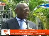 Jean-Pierre Kambila, directeur adjoint de cabinet de Kabila, rétorque que ces sanctions de l'Union Européenne n'aura aucun effet