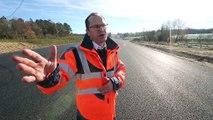 Sept kilomètres de quatre voies de plus sur la RN10 (images Renaud Joubert)