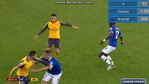 Phil Jagielka - Red Card - Everton 2 - 1 Arsenal - 2016-12-13