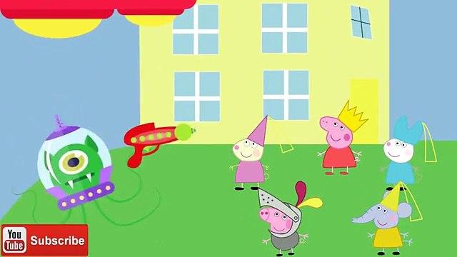 Peppa Pig, George Pig and friends Power Rangers Vs Aliens #Peppa Pig #George Pig #Power Rangers