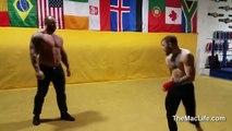 Conor McGregor vs The Mountain - GAME OF THRONES