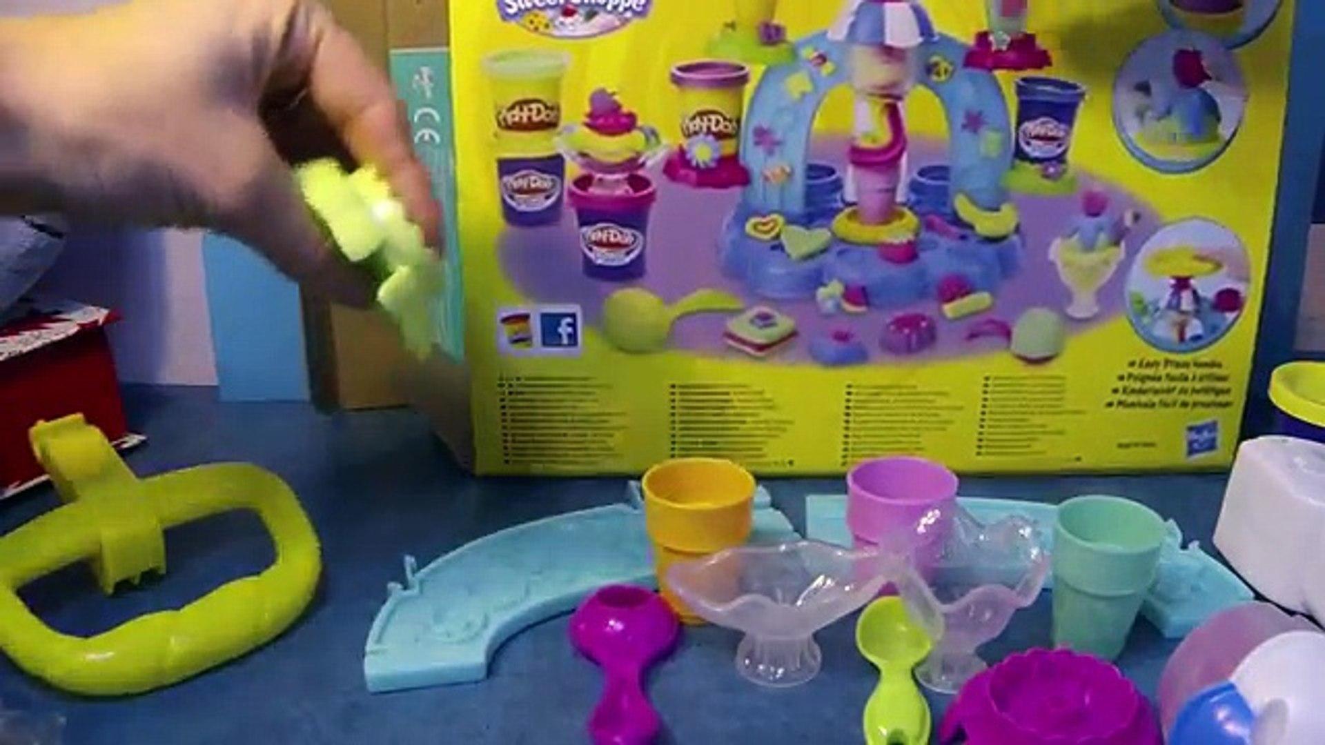 PLAY DOH Игры для детей мороженое завод льда и весело фрезы игры DOH