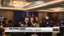 S. Korea, U.S., Japan's six-party representatives agree to strengthen cooperation on N. Korea sanctions