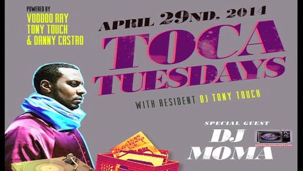 Blunt Squad TV - Voodoo Ray Interview with DJ June, guest DJ Moma Toca Tuesdays at Sutra NYC
