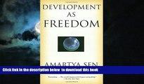 Buy Amartya Sen Development as Freedom Audiobook Download