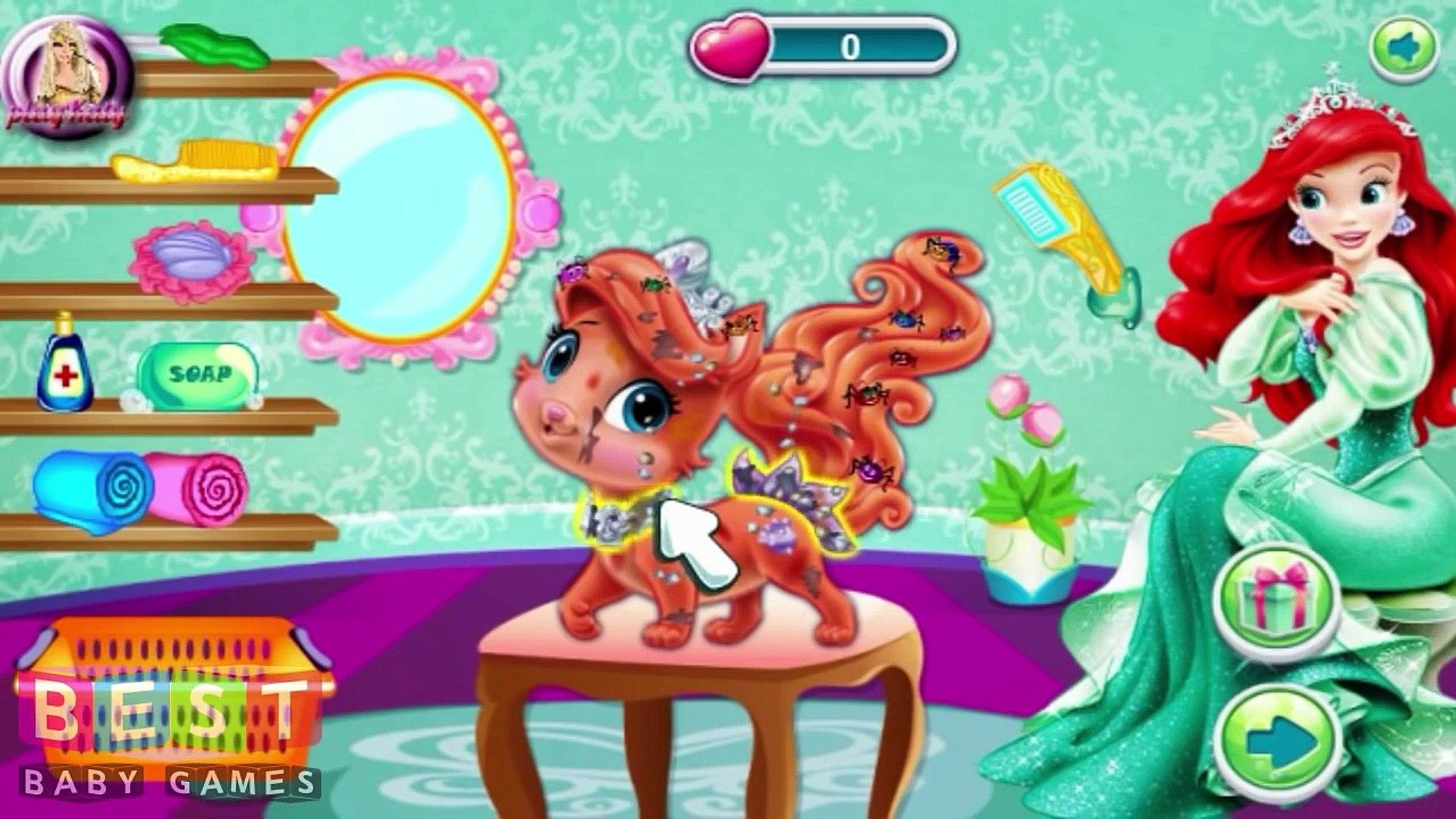 ღ Princess Ariel Palace Pets (Pet Care)
