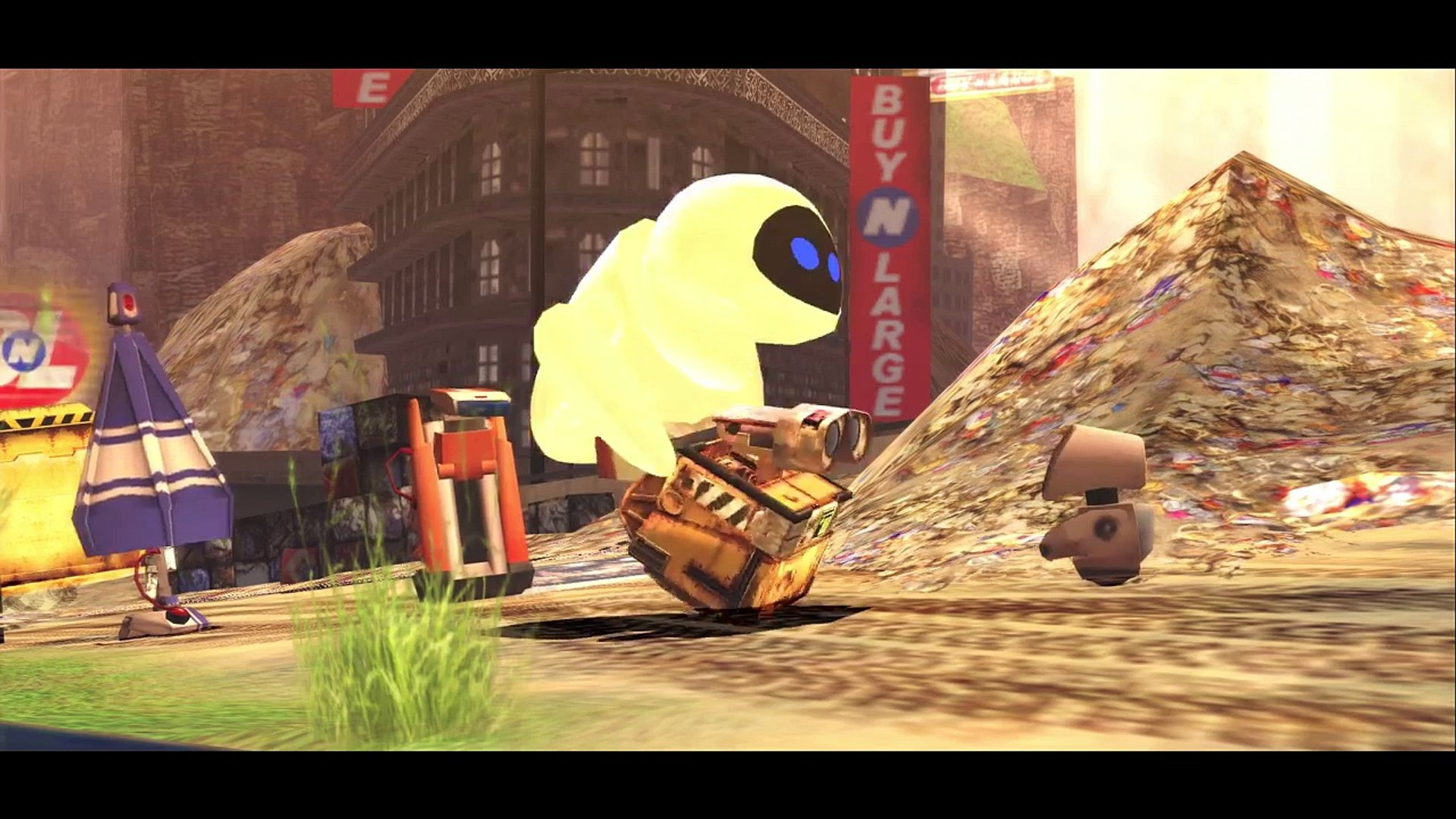 Wall-E super fun + Found a friend Nursery Rhyme for Childrens!New!(Children Songs with Action)