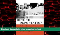 Pre Order Beyond Deportation: The Role of Prosecutorial Discretion in Immigration Cases